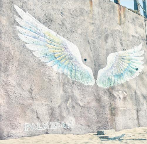糸島にあるインスタスポット天使の羽