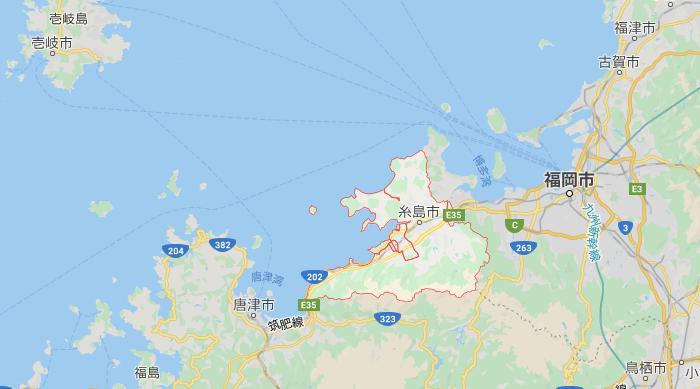 糸島市の位置