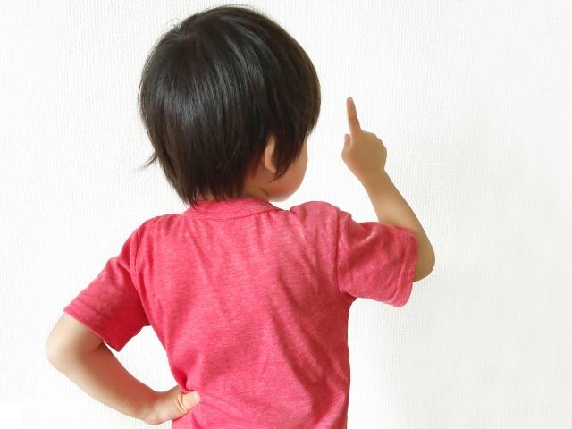 主張する子ども、意見