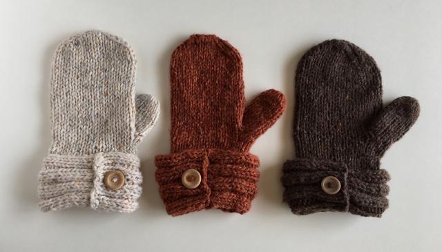 ミトン、手袋