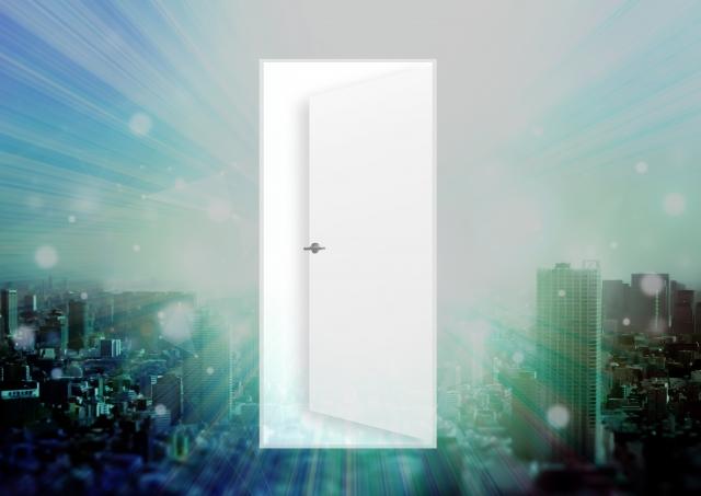発見、都市、イノベーション、ドア
