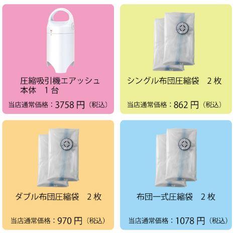 電動圧縮袋