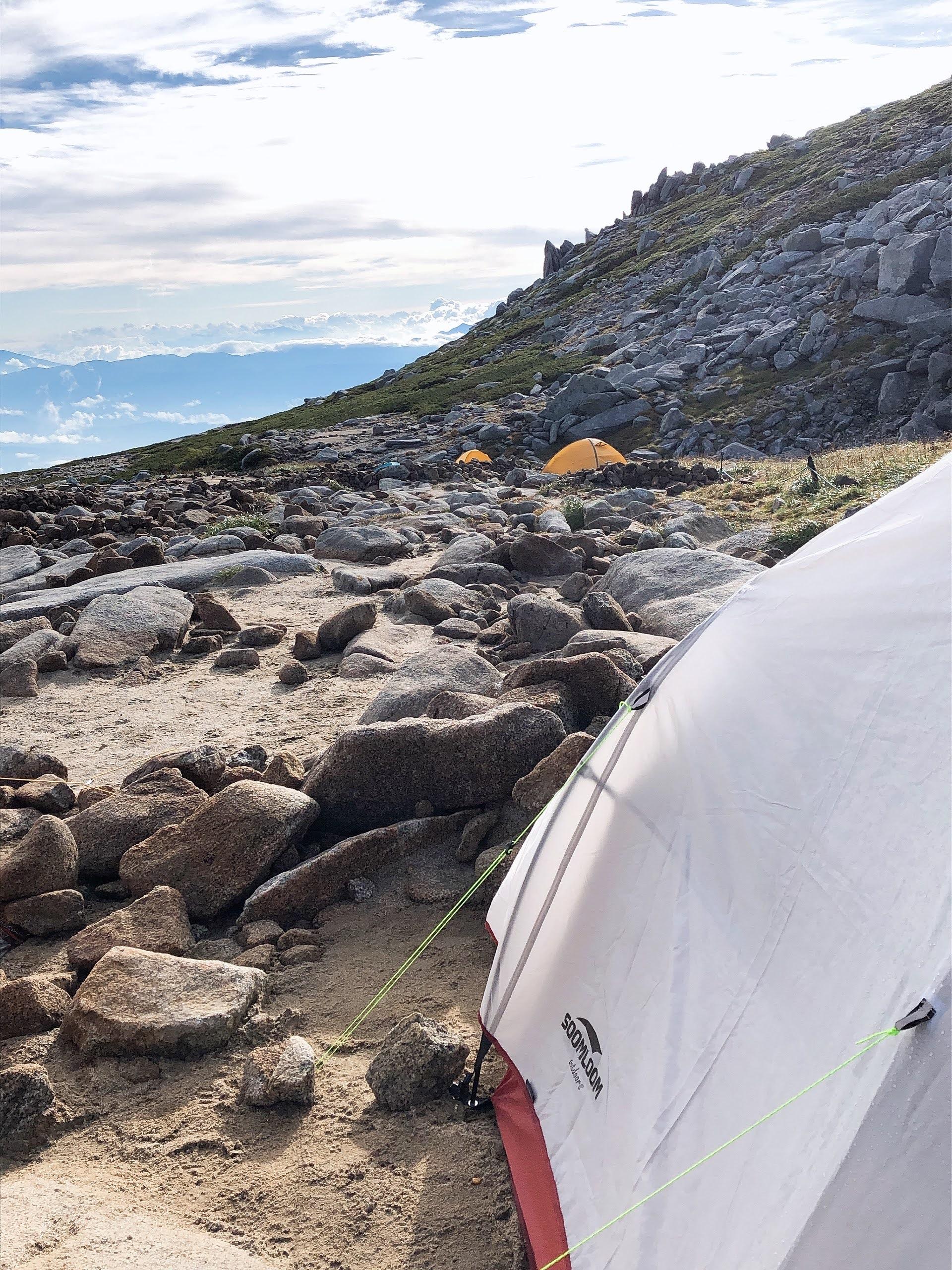 ソロテント、登山、キャンプ